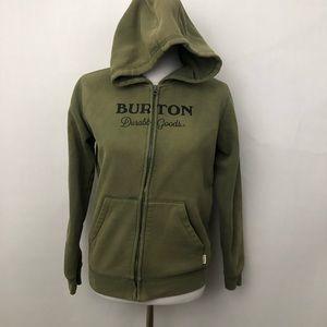 Burton Durable Goods Zip up Sweatshirt sz Lg